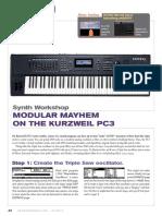 Keyboard Magazine 2010-07 (Modular Mayhem on the Kurzweil PC3)