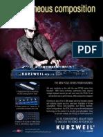 Keyboard Magazine 2011-01 Kurzweil PC3LE6 (Ad pg 21)