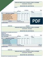 REGISTRO DE ASISTENCIA 20 - 21