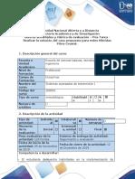 Guía de actividades y rúbrica de evaluación - Pos-Tarea - Recopilar información a partir de las temáticas vistas en el curso