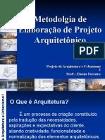 Metodologia de Elaboração de Projeto