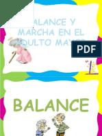 BALANCE Y MARCHA EN EL ADULTO MAYOR