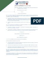 Reglamento de registro y de control de productos farmaceuticos