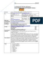 UT Dallas Syllabus for ee3111.601.11s taught by Gil Lee (gslee)