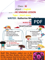 The singing lesson - PART 2