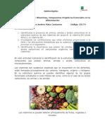 Vitaminas Compuestos Orgánicos Esenciales en La Alimentación