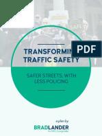 Brad Lander's Traffic Safety Platform