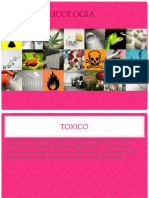 TOXICOLOGIA GENERALIDADES