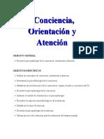TEMA 10 A CONCIENCIA ORIENTACION Y ATENCION
