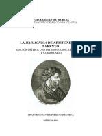 Elementa Harmonica - Aristoxeno
