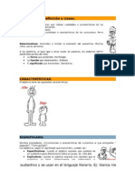 Tema 8 El Adjetivo, El Articulo, El Pronombre
