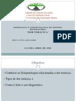 Érica Alexandre trabalho de semiologia medica