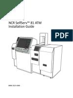 NCR SelfServ 81 ATM Installation Guide Skraceno