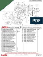 Gaggia Cadorna Prestige Parts Diagram