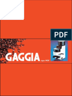 Gaggia MDF Full Instruction Manual