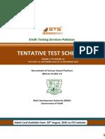MDA-Test-Schedule-IT-STS