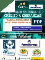EXPOS GLICERIO FELICES FINANCIAMIENTO CADENAS VALOR