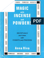 Magic With Incense and Powders 850 Rituals and Uses With Chants and Prayers by Anna Riva (Z-lib.org)