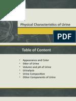 Physical Characteristics of Urine.pptx