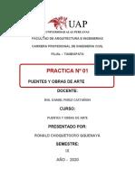 PUENTES - PRIMER TRABAJO - RONALD CHOQUETOCRO