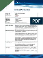 5239 Position Description - Traffic and Transport Engineer