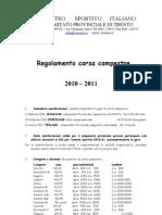 regolamento corsa campestre2011