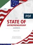 2011 State of Entrepreneurship Address