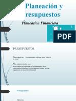 UNIDAD I.- PLANEACIÓN Y PRESUPUESTO