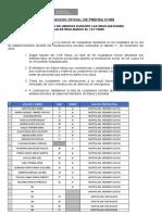 Comunicado Oficial de Prensa Nº308