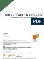 100 jeux créatif en langues, Collet-Roeland
