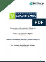 César Augusto García Aguilar_Actividad 4.4 Análisis reconsideración crítica