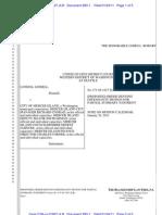 #283-1 - Proposed Order Denying Defs' Motion for Partial SJ
