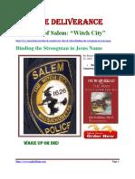 The Evils of Salem. Witch City PDF