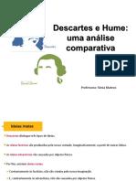 Descartes e David Hume