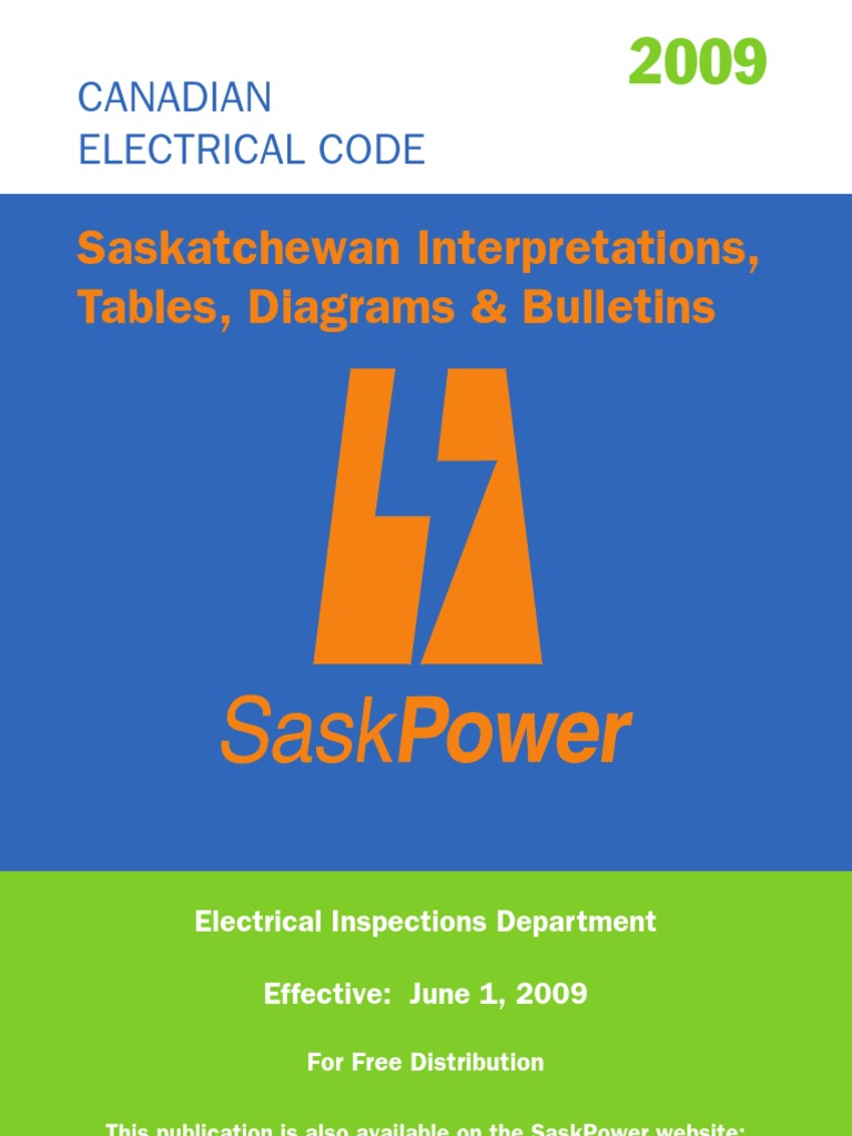 2009_sk_electrical_code_amendments | Electrical Wiring | Cable
