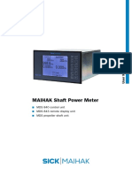 MAIHAK Shaft Power Meter MDS 840 Manual  V1-1