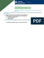 2° Secundaria Fecundación, Desarrollo FT