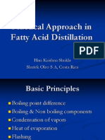 Practical Approach in Fatty Acid Distillation