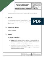 PDLE032(Comprobaciones Intermedias en equipos de pesar no automaticos)