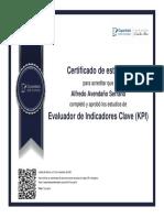 Evaluador de Indicadores Clave (KPI)