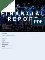 Financials Football Man City