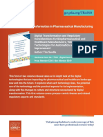Digital transformation of pharmaceuticals (new book)