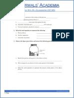 class 9 biology photosynthesis and respiration classwork 121110