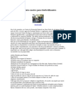Bokashi e fermento caseiro para biofertilizantes