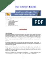 Vet State Benefits - UT 2020A