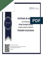 Evaluador de procesos