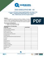 ME03 - Sistema de Dupla Impermeabilização em áreas frias - 11 pags