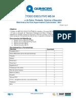 ME04 - Tratamento de Ralos, Rodapés, Soleiras e Baguetes MAI - 10 pags