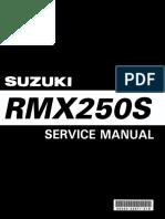 Suzuki RMX250S  '98-'99 service manual.pdf