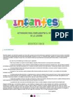 Actividades complementarias de la lección INFANTES parte 1